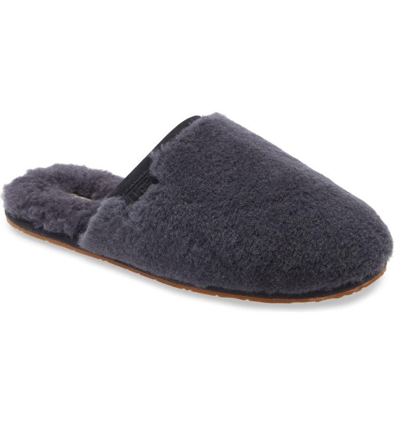 UGG<SUP>®</SUP> Fluffette Slipper, Main, color, TRUE NAVY