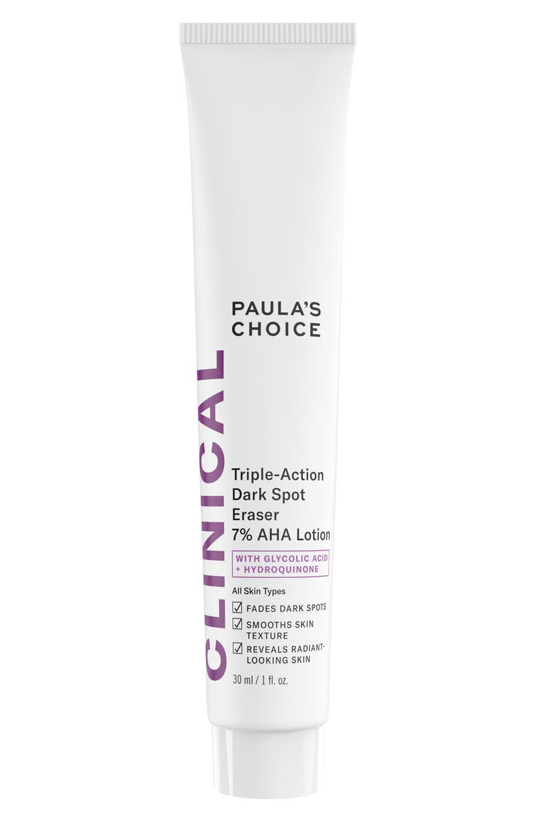 PAULA'S CHOICE Resist Triple-Action Dark Spot Eraser 7% AHA Lotion, Main, color, NO COLOR