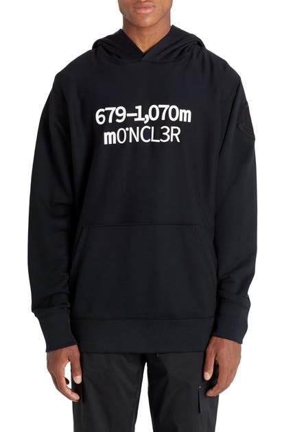 Moncler Genius Downs X 2 MONCLER 1952 ELEVATION GRAPHIC HOODIE