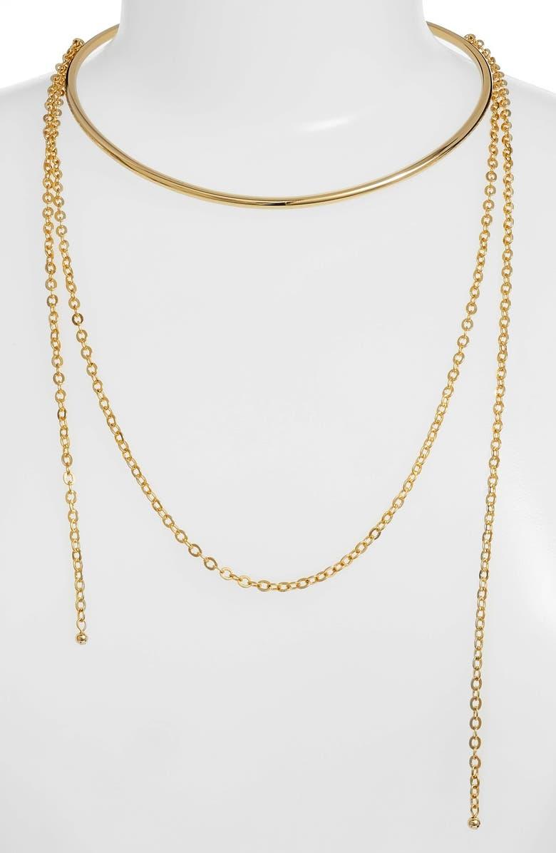 JULES SMITH 'Loren' Choker Necklace, Main, color, Gold