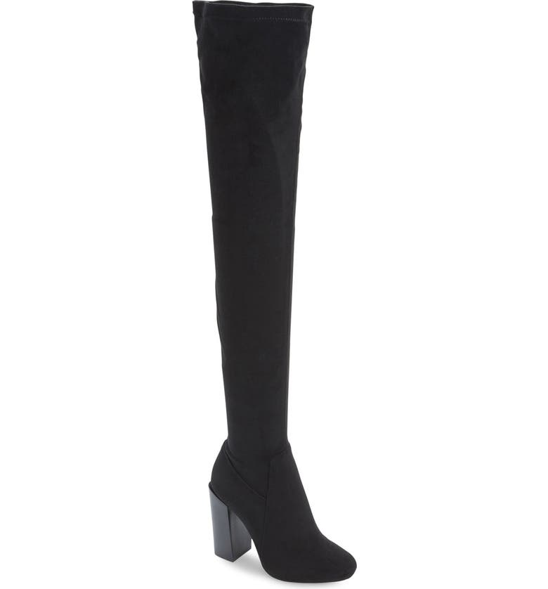 JEFFREY CAMPBELL JeffreyCampbell 'Perouze' Over the Knee Boot, Main, color, 004