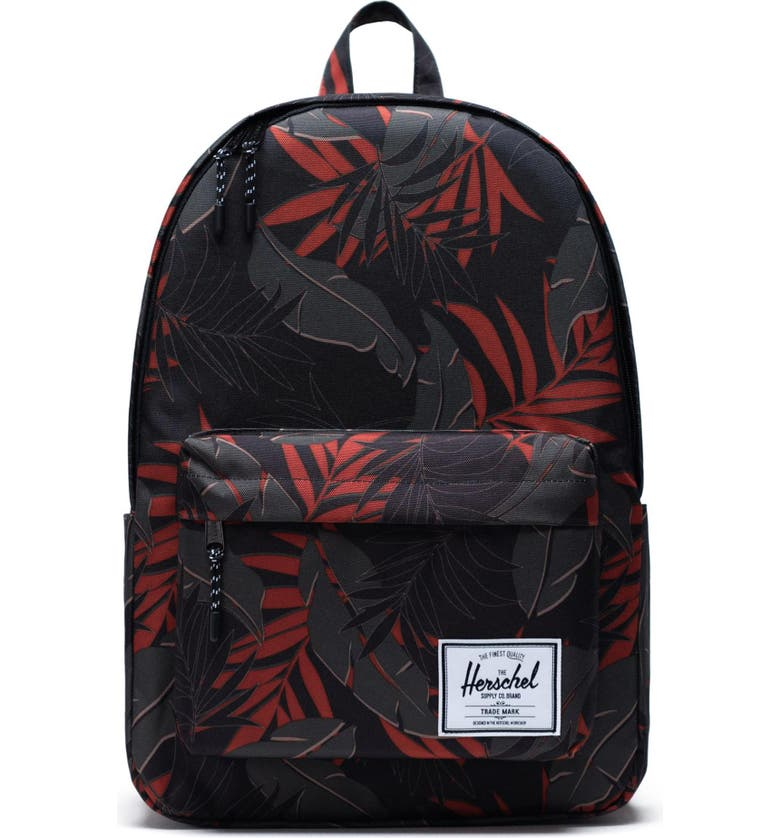 HERSCHEL SUPPLY CO. Classic X-Large Backpack, Main, color, DARK OLIVE PALM