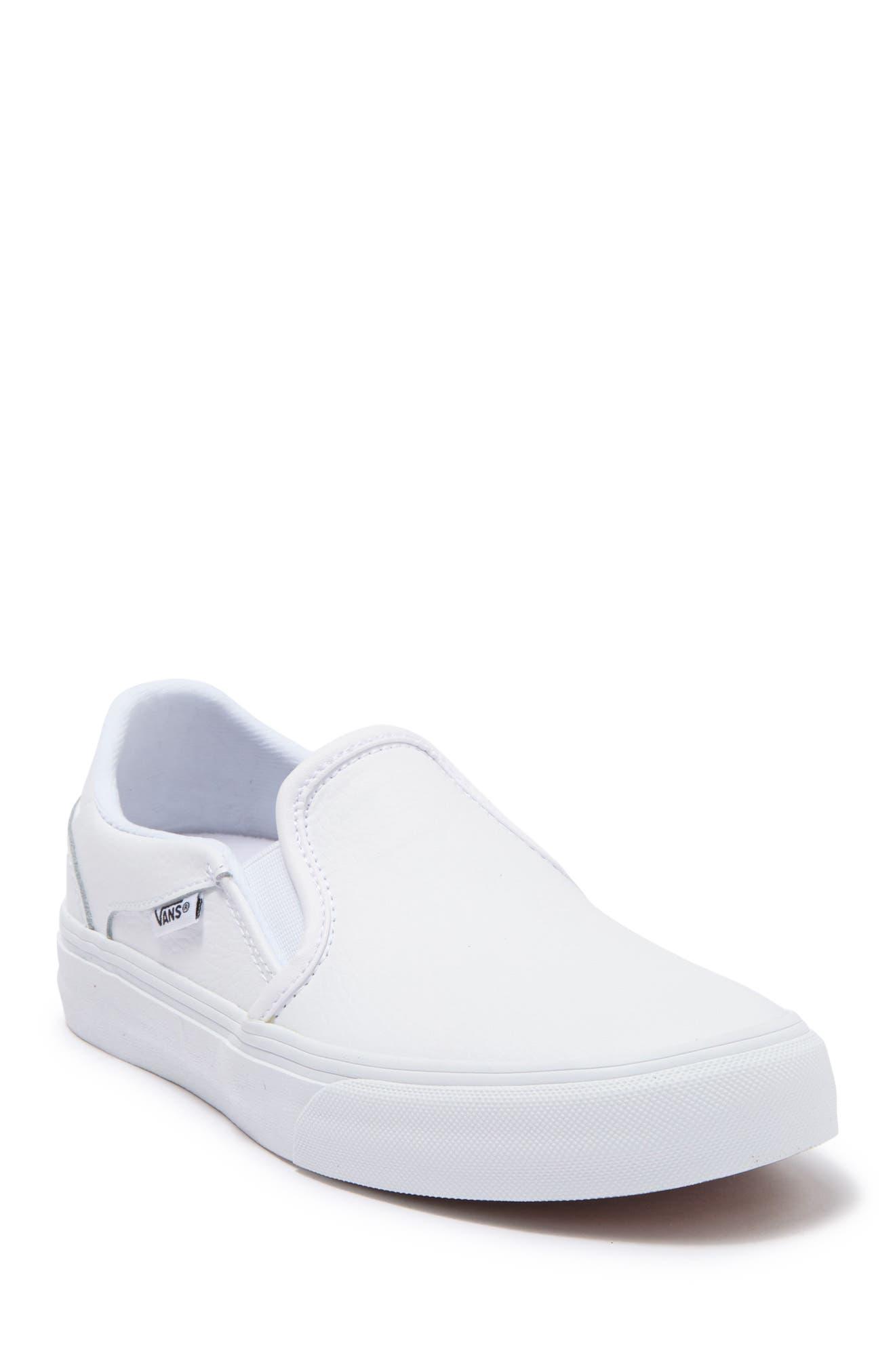 Image of VANS Asher Deluxe Slip-On Sneaker