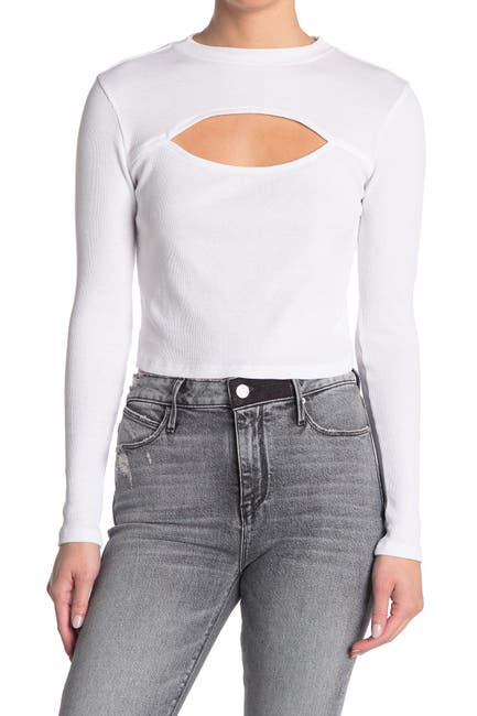 Image of Abound Cutout Long Sleeve Top