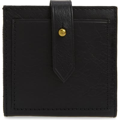 Madewell The Post Billfold Wallet - Black