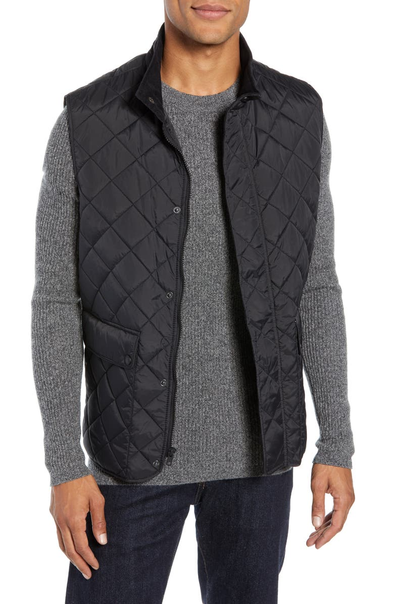 VINCE CAMUTO Diamond Quilted Vest, Main, color, 001