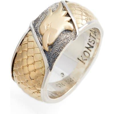 Konstantino Heonos Eagle Ring