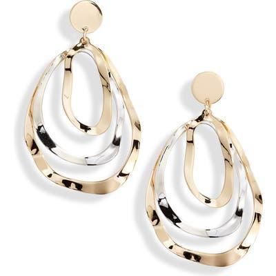 Ten79La Triple Layer Oval Earrings