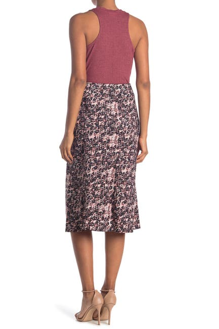 Image of Sanctuary Bias Pull-On Midi Skirt