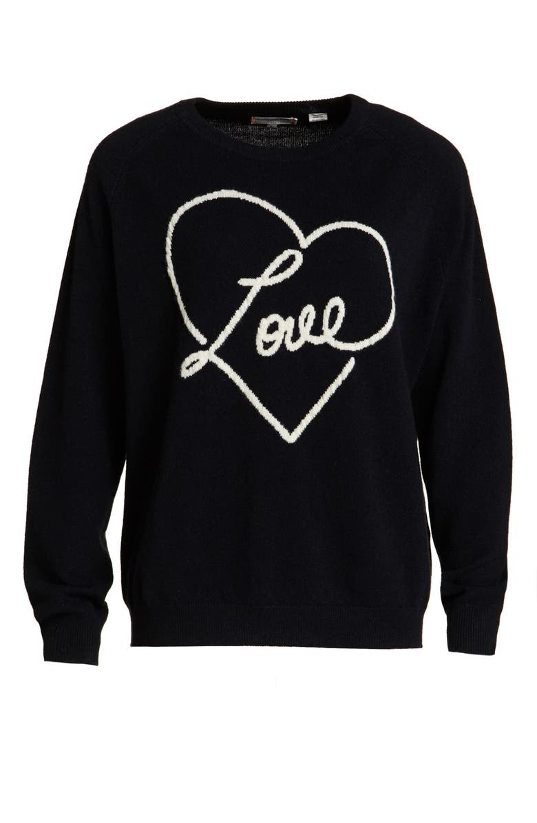 CHINTI & PARKER Chinti and Parker Cashmere 'Love' Sweater, Main, color, 412