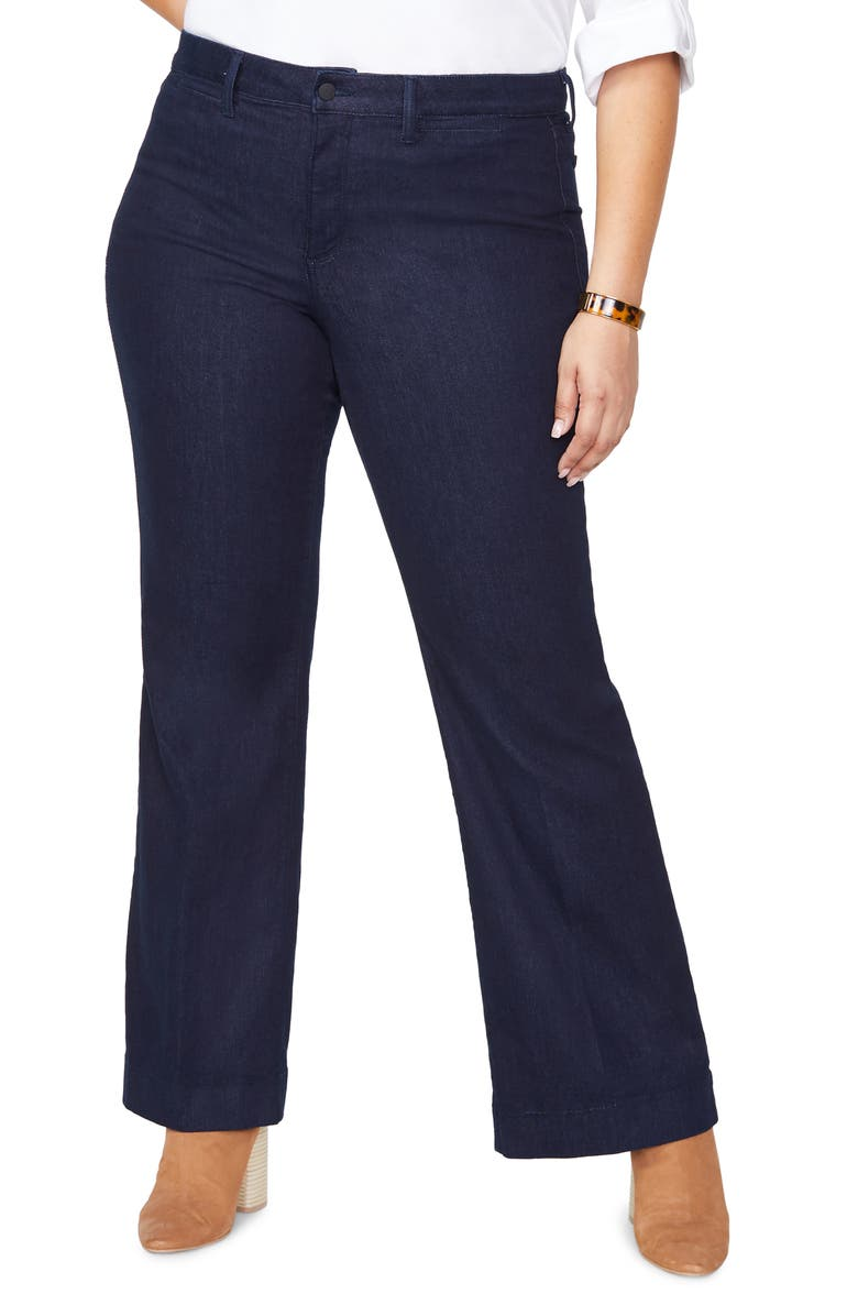 NYDJ Teresa Trouser Jeans, Main, color, RINSE