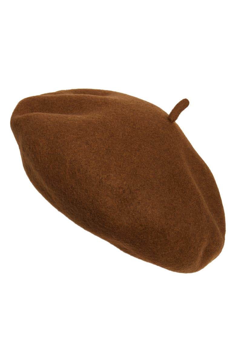 BRIXTON Audrey Wool Beret, Main, color, 200
