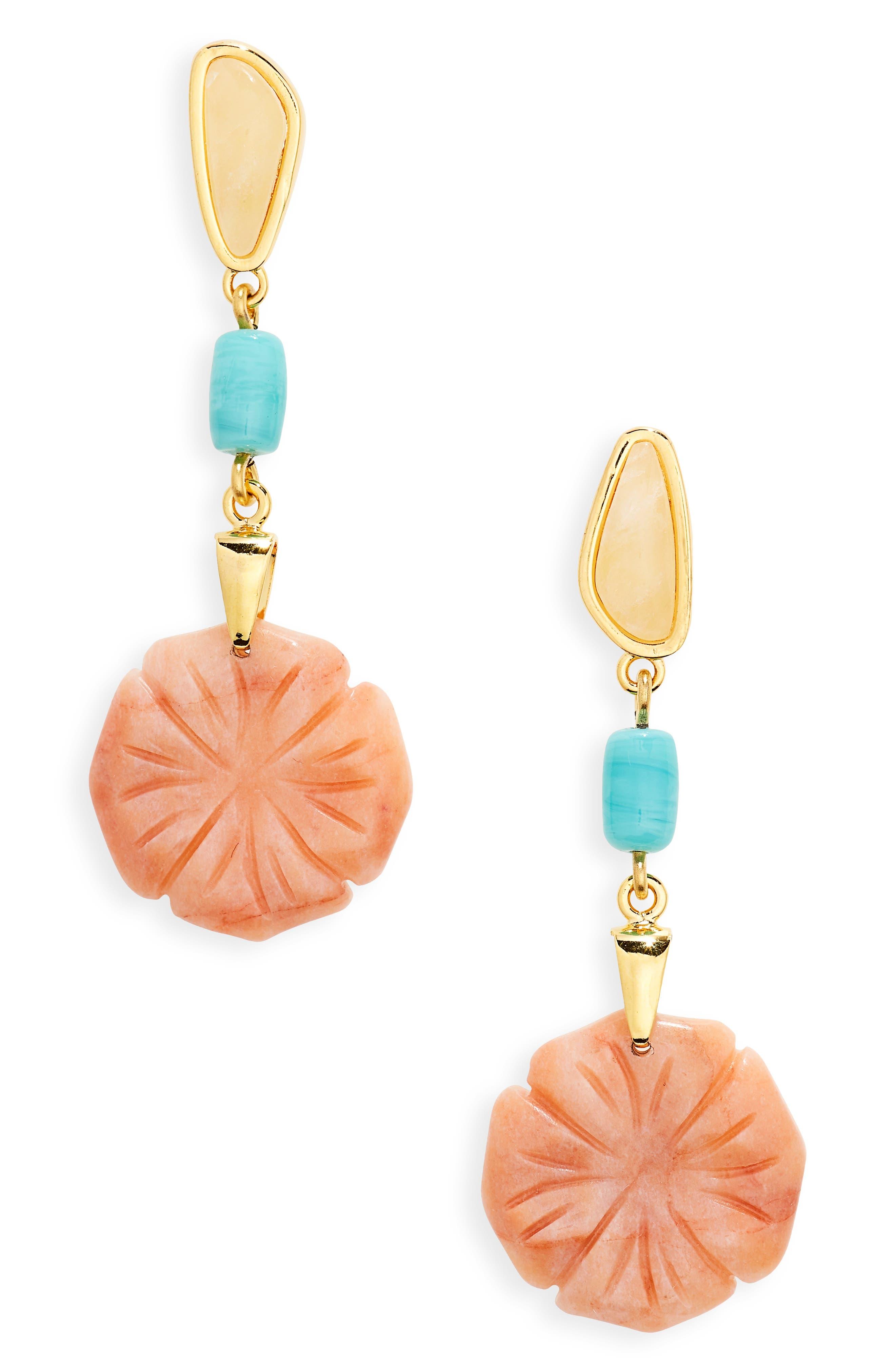 Bloomscape Drop Earrings