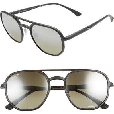 Ray-Ban 5m Square Sunglasses - Matte Black