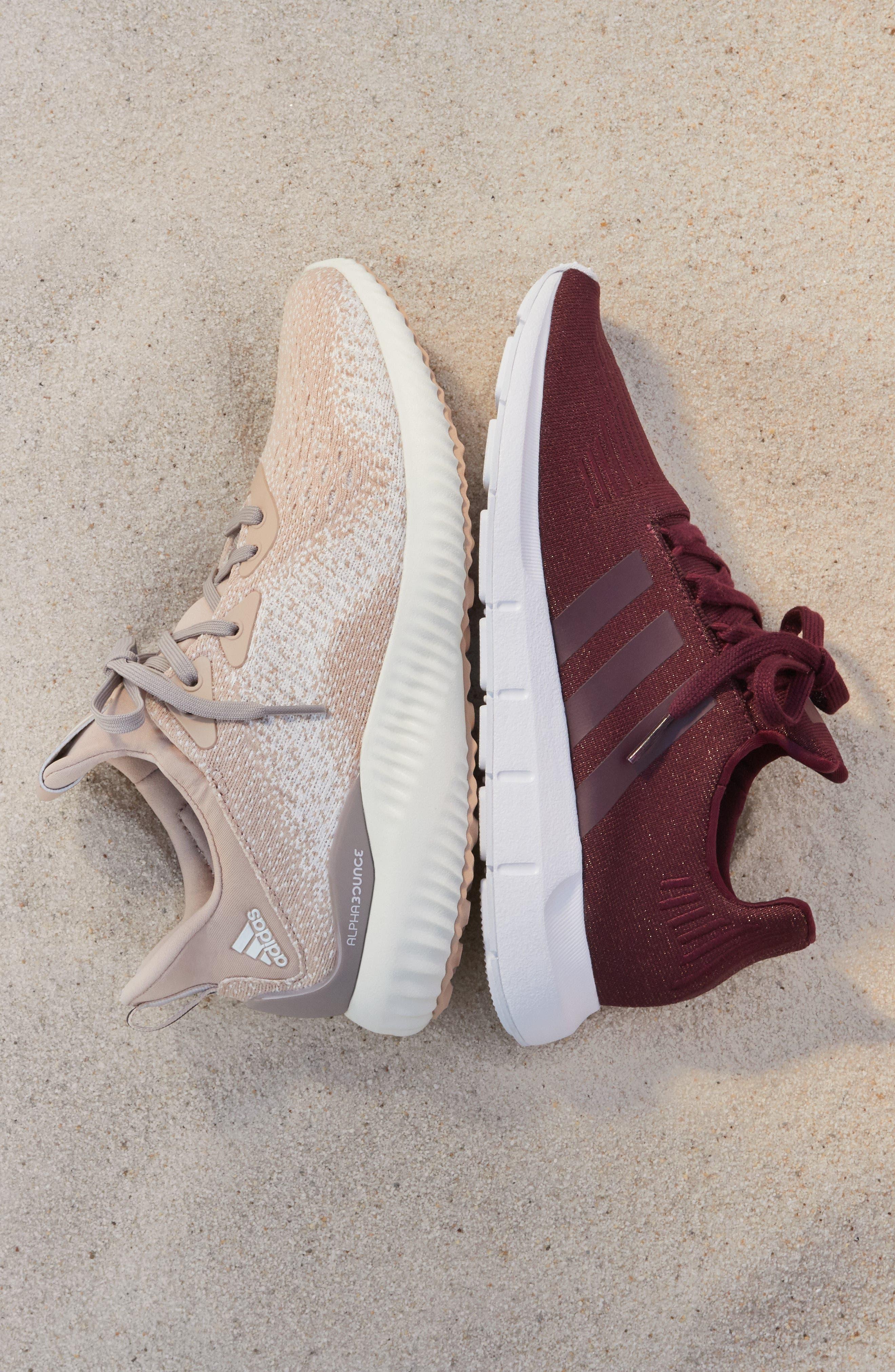,                             Swift Run Sneaker,                             Alternate thumbnail 7, color,                             ASH PEARL/ OFF WHITE/ WHITE