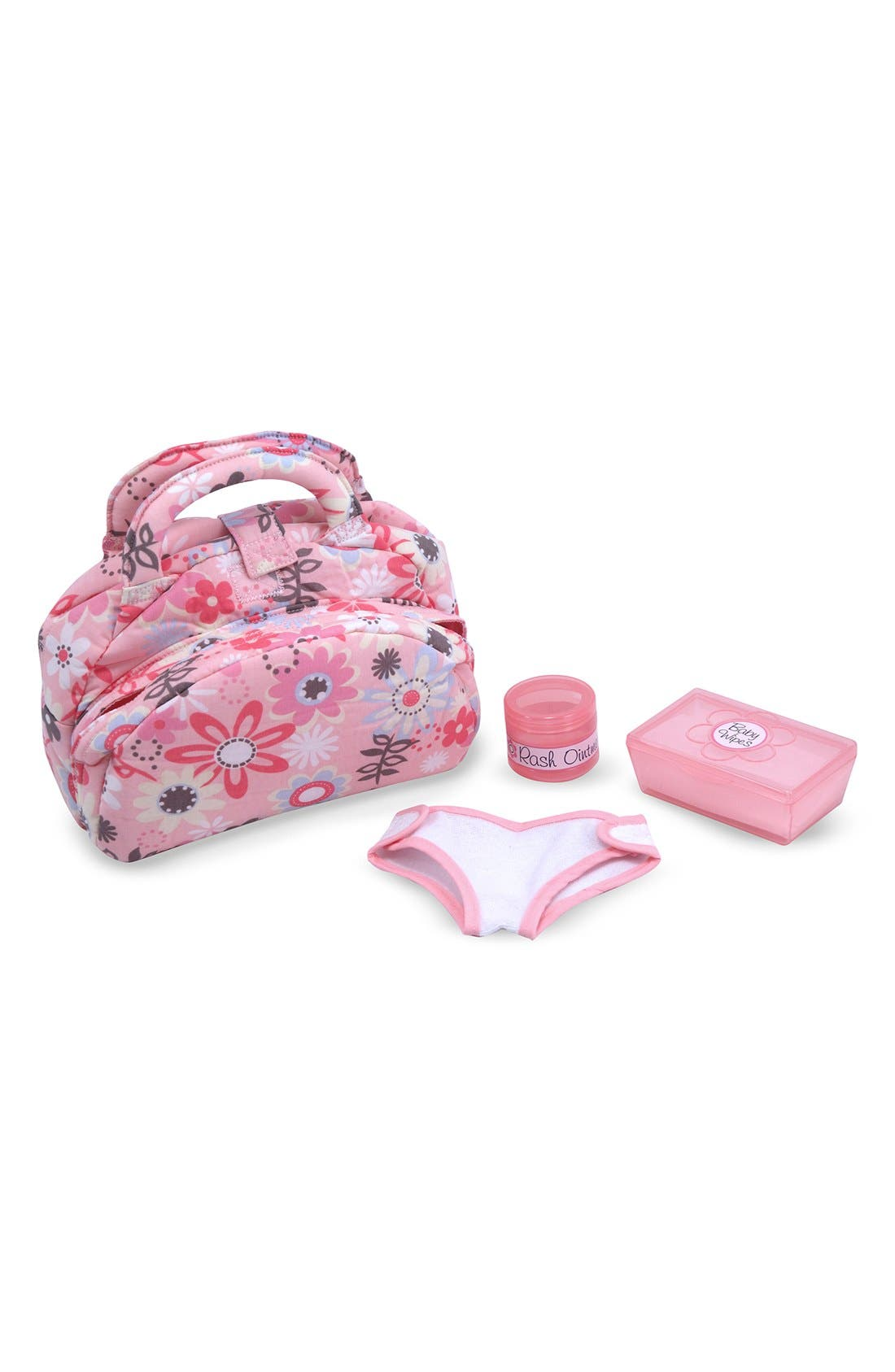 ,                             Baby Doll Accessories Set,                             Alternate thumbnail 4, color,                             PINK