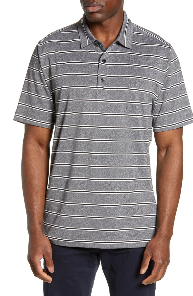 Cutter Buck Forge Stripe Jersey Polo