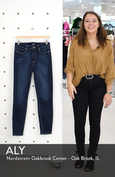 Transcend - Hoxton High Waist Ankle Skinny Jeans, sales video thumbnail