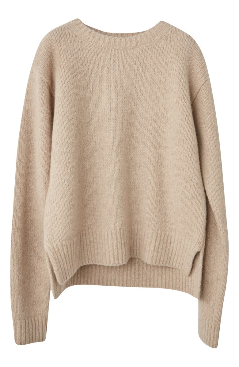 ACNE STUDIOS Kiany Wool & Cashmere Blend Sweater, Main, color, COLD BEIGE