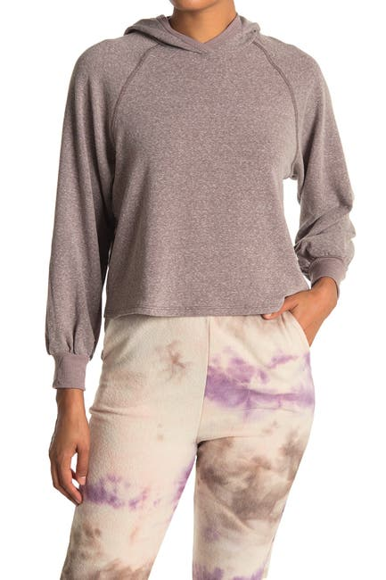 Image of Lush Cropped Long Sleeve Hoodie