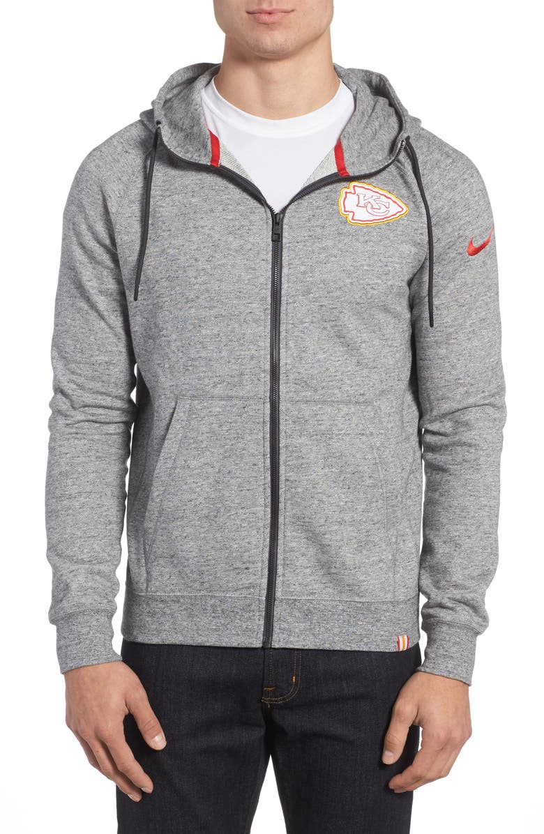 low priced 07e02 62963 Nike AW77 NFL Graphic Zip Hoodie | Nordstrom