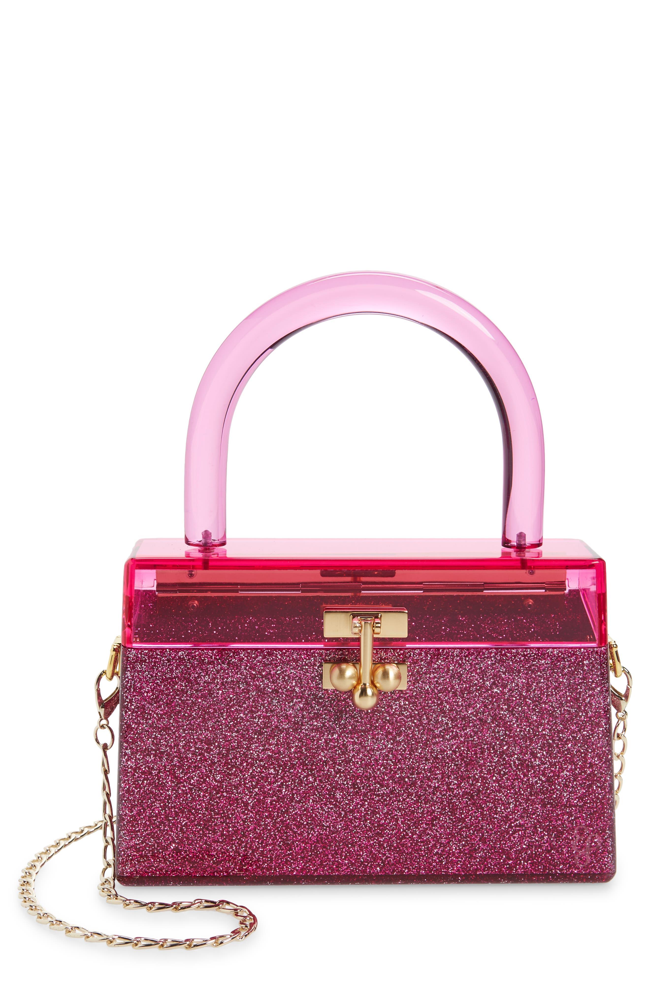Miss Mini Acrylic Top Handle Bag