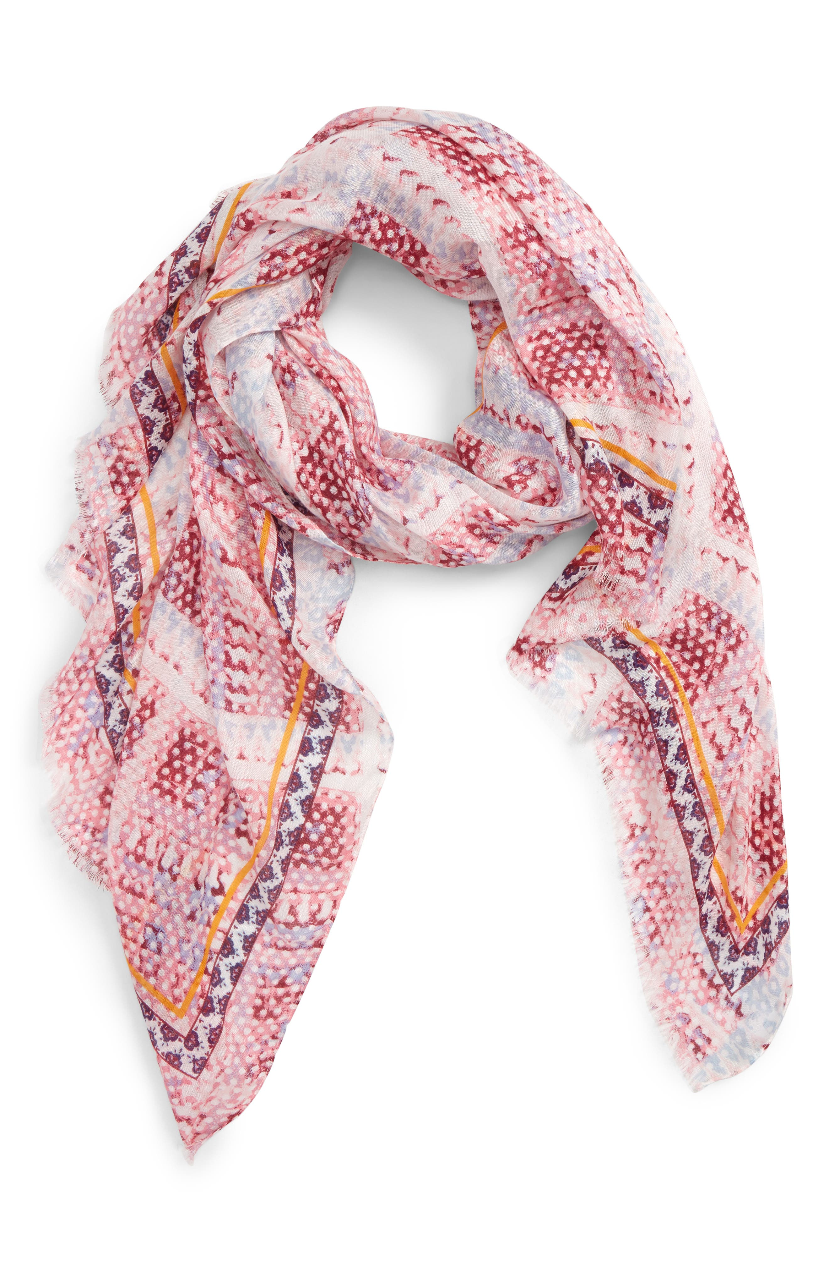 ,                             Print Modal Scarf,                             Alternate thumbnail 14, color,                             938
