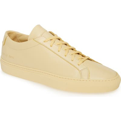 Common Projects Original Achilles Sneaker, Yellow