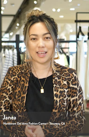 Flower Jacquard Gown, sales video thumbnail