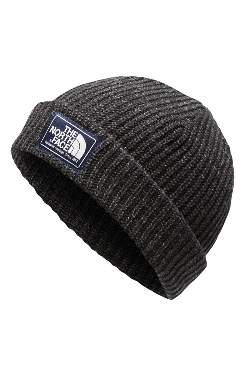 THE NORTH FACE Salty Dog Beanie, Main, color, TNF BLACK