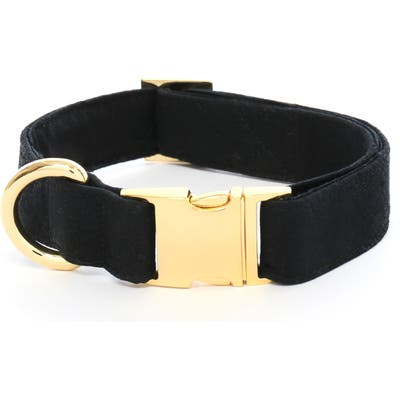 The Foggy Dog Onyx Dog Collar, Black
