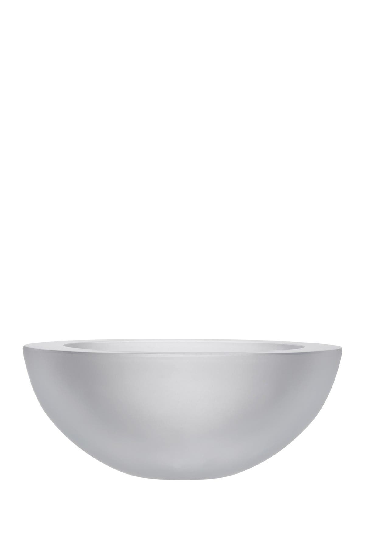 Image of Nude Glass Essence Bowl - Large - Sandblasted