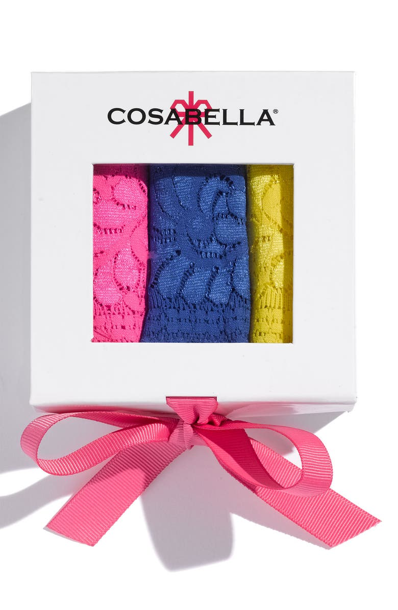 COSABELLA 'Love Is In The Air' Thong Gift Set, Main, color, 960