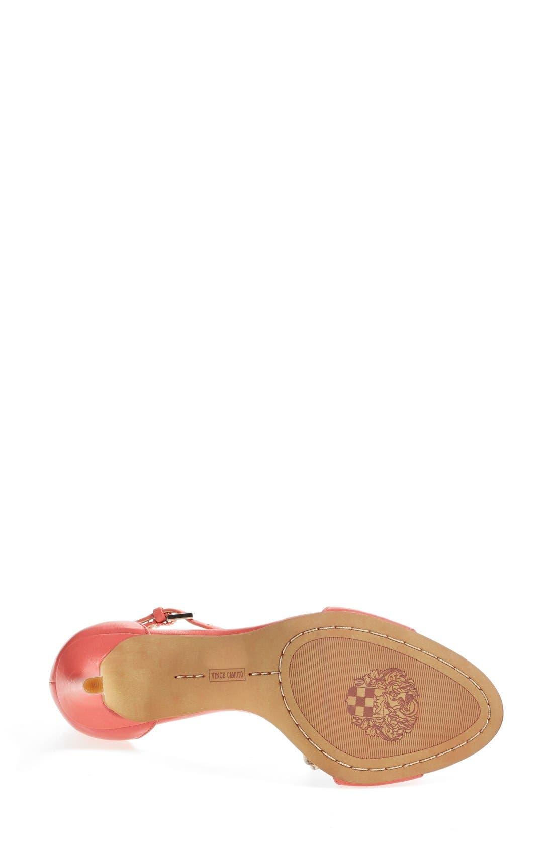 ,                             'Court' Ankle Strap Sandal,                             Alternate thumbnail 92, color,                             660