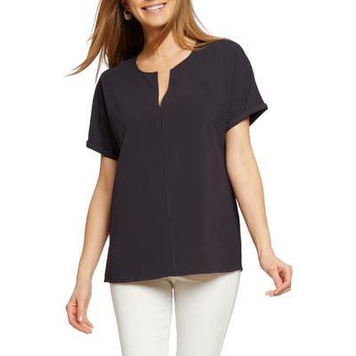 Nic+Zoe Sunday Stroll Stretch Cotton Top