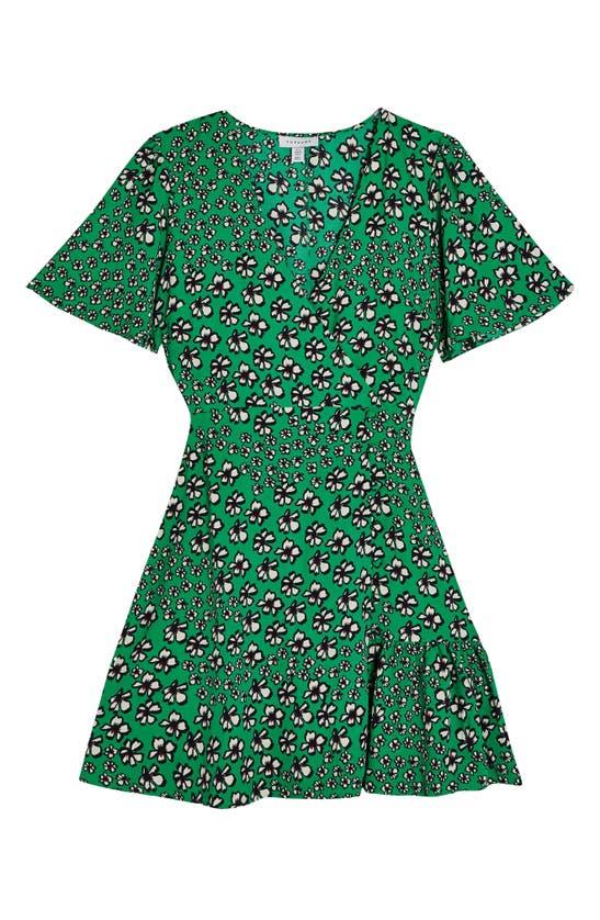 TOPSHOP Dresses FLORAL TEA DRESS