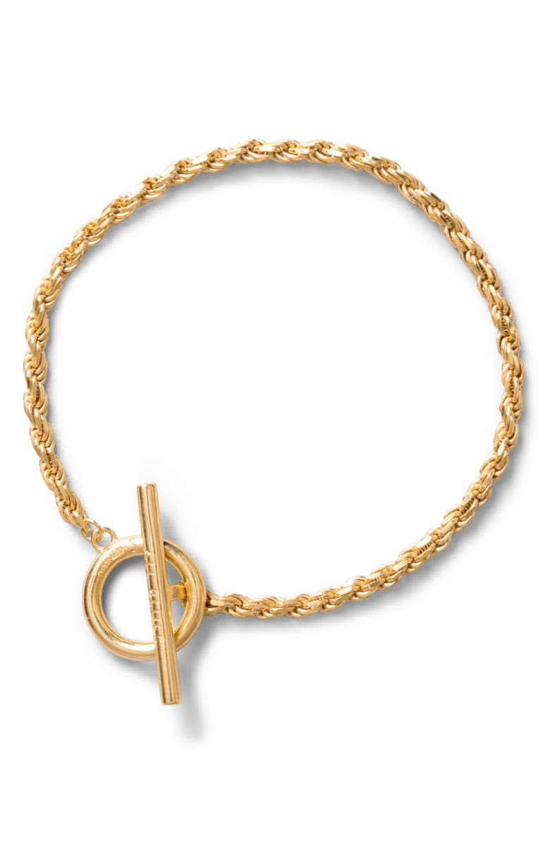 ALL BLUES Rope Bracelet, Main, color, GOLD