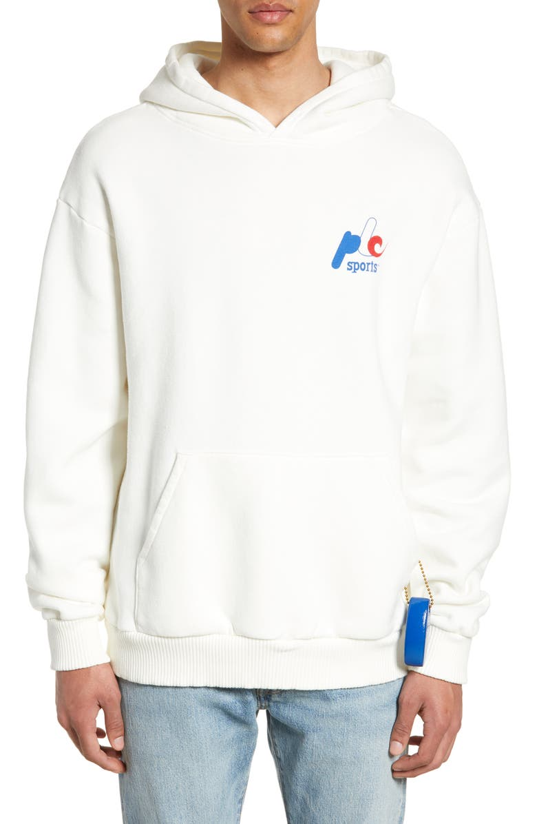 PASADENA LEISURE CLUB PLC Sports Hoodie, Main, color, WHITE