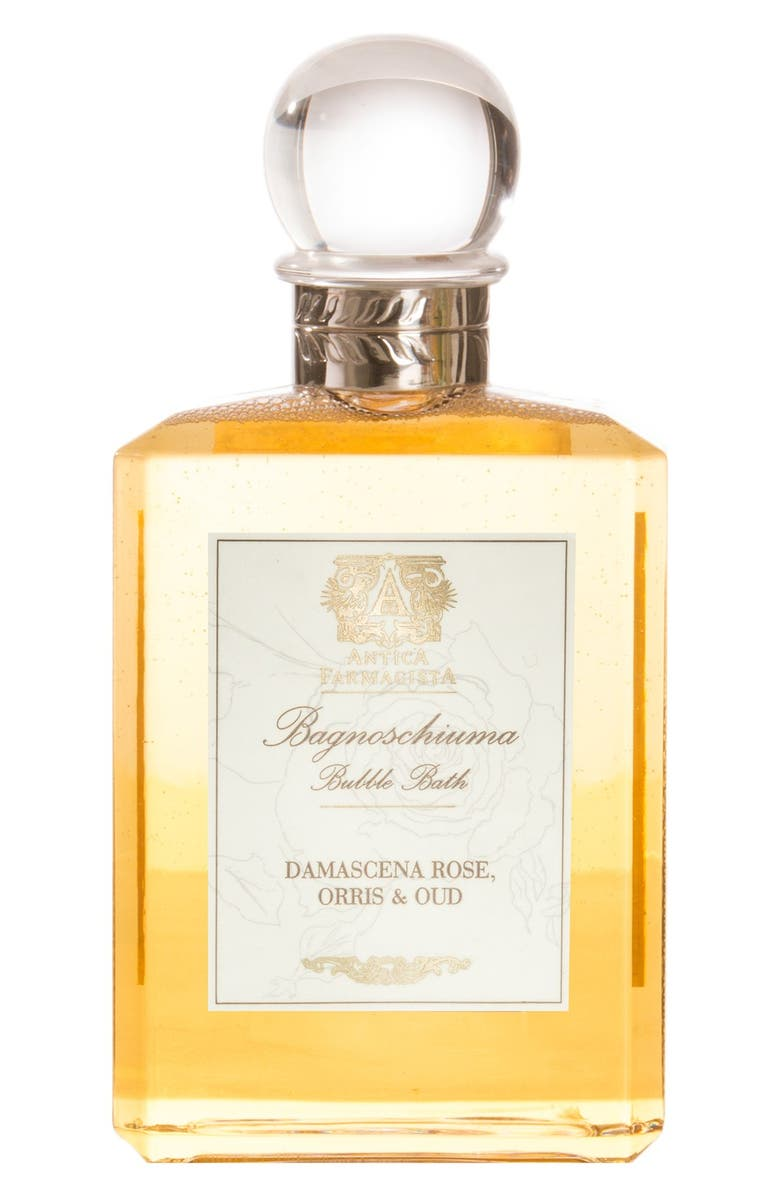 ANTICA FARMACISTA Damascena Rose, Orris & Oud Bubble Bath, Main, color, NO COLOR