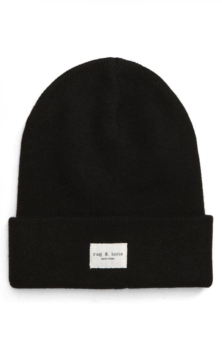 RAG & BONE Addison Beanie, Main, color, 001