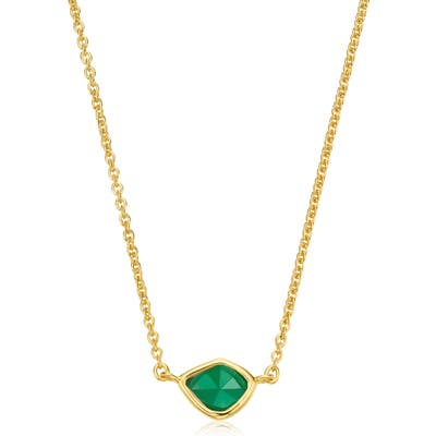 Monica Vinader Siren Mini Nugget Pendant Necklace