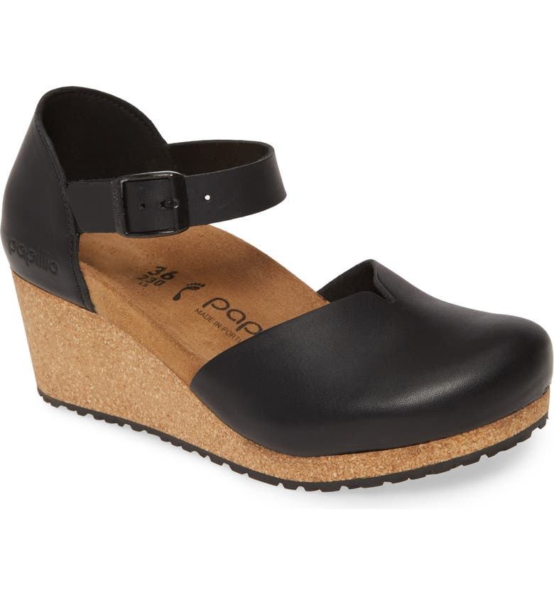 BIRKENSTOCK Mary Wedge Clog, Main, color, 001