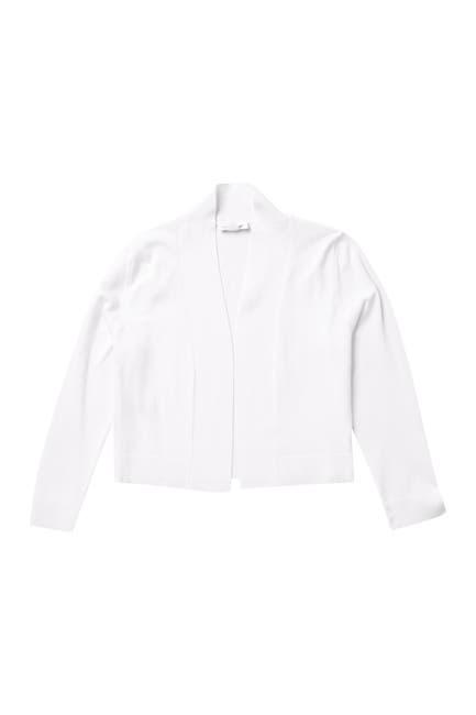 Image of Calvin Klein 3/4 Length Sleeve Knit Shrug