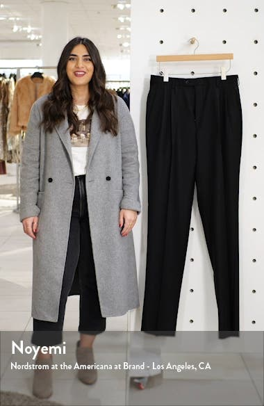 Bennett Straight Leg Pleated Dress Pants, sales video thumbnail