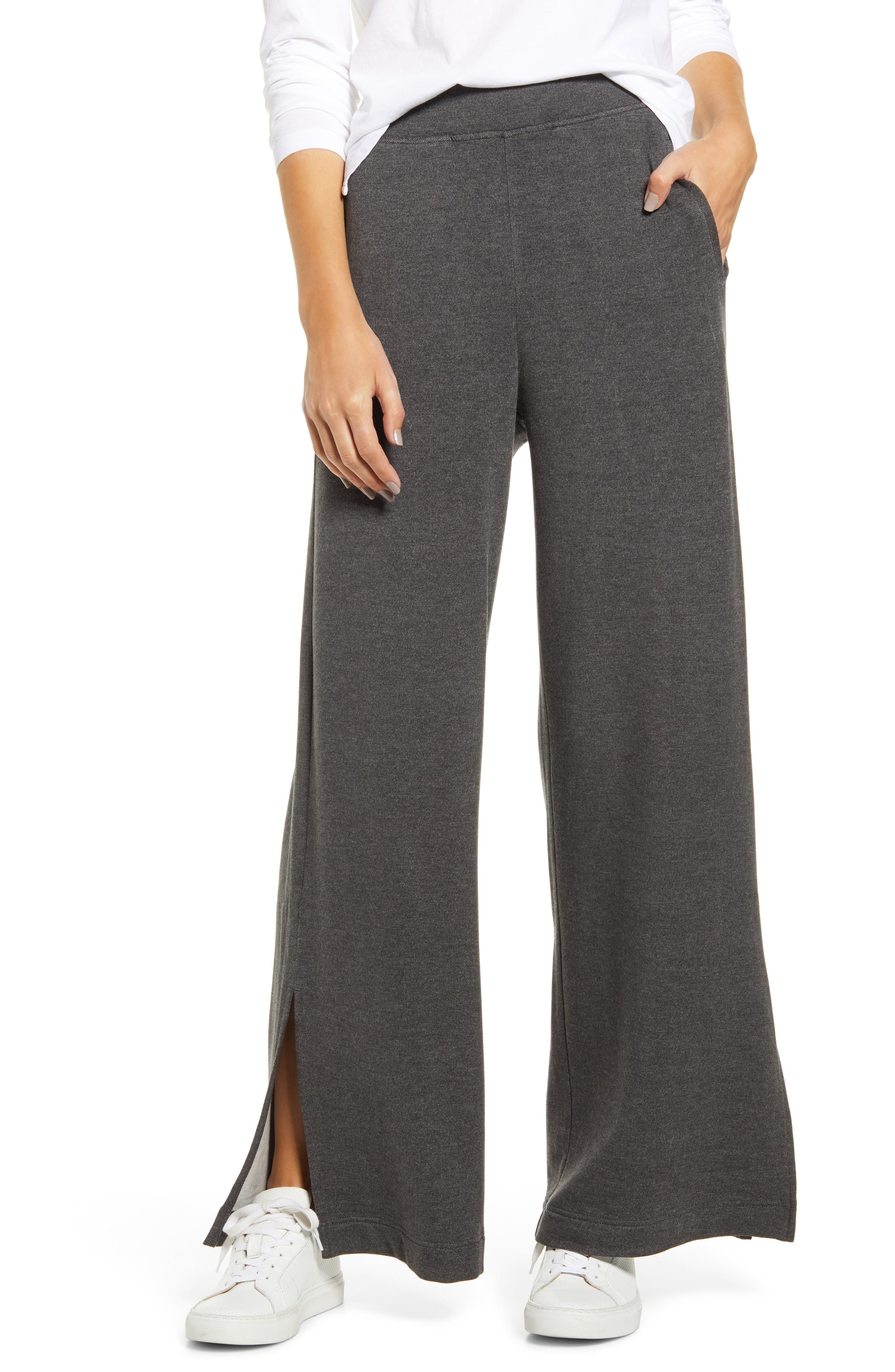 Women's Lou & Grey Plush Wide Leg Sweatpants