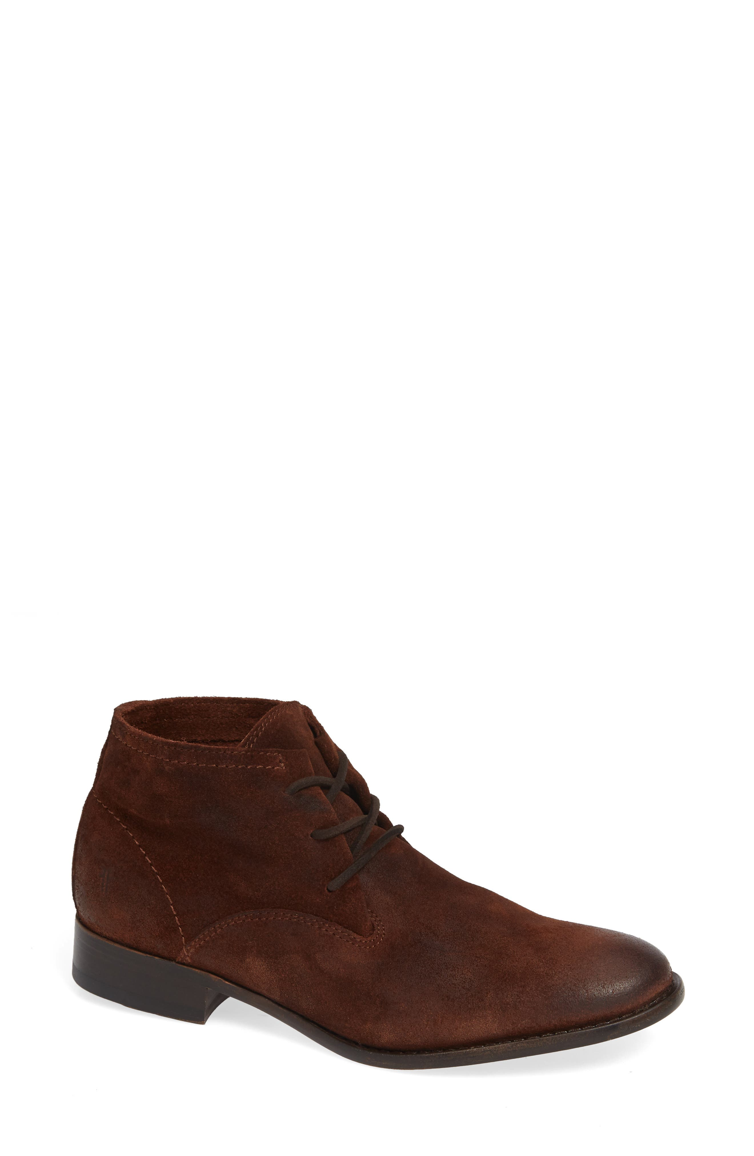 Frye Carly Bootie- Brown