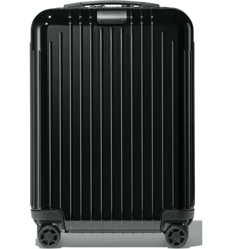 RIMOWA Essential Lite 22-Inch Wheeled Suitcase, Main, color, BLACK