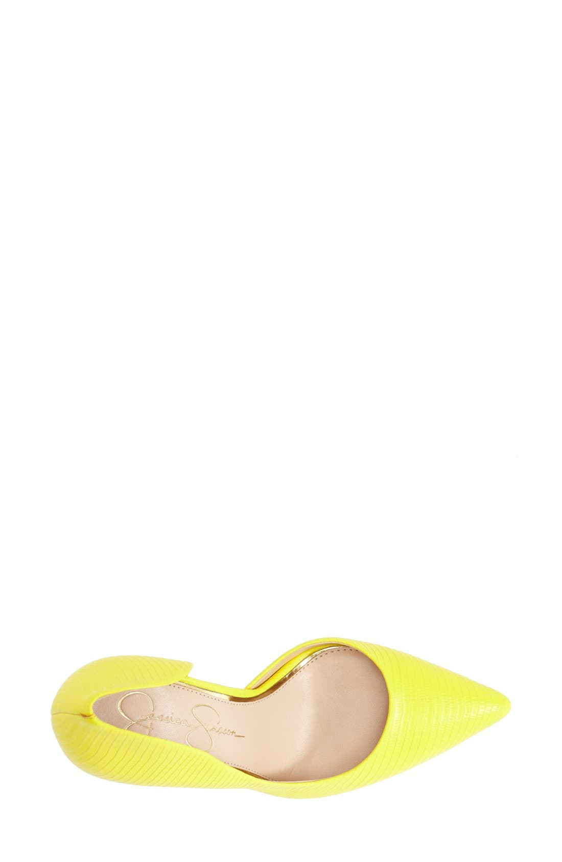 ,                             'Claudette' Half d'Orsay Pump,                             Alternate thumbnail 268, color,                             700
