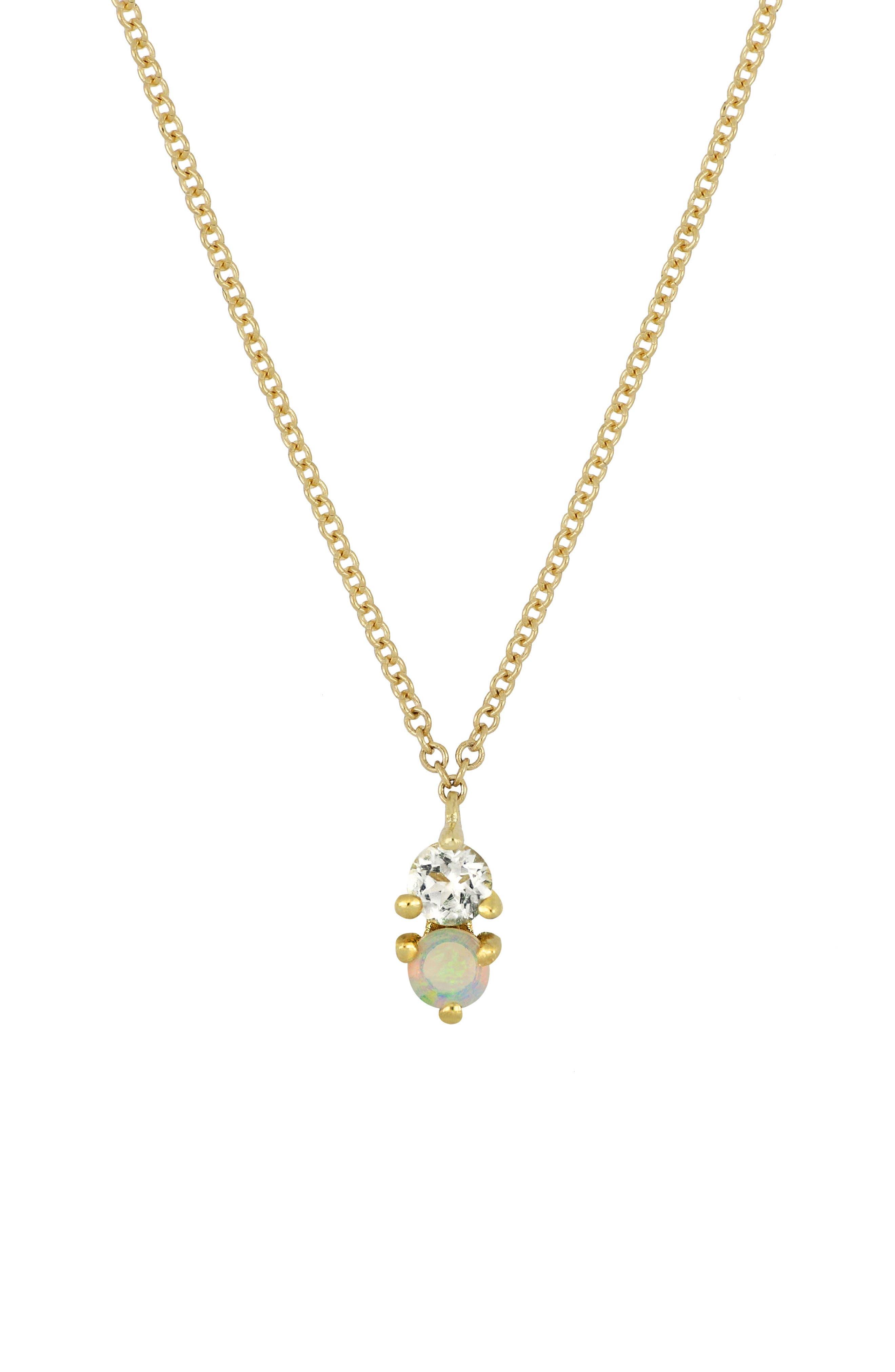 ,                             Birthstone Pendant Necklace,                             Main thumbnail 3, color,                             102