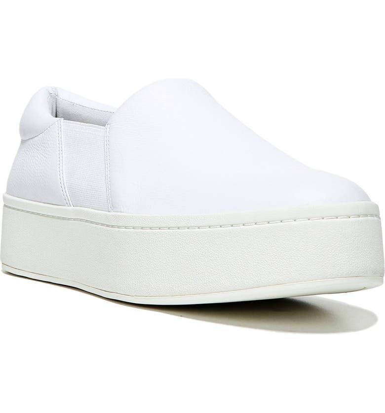 f320fc7a5efac Warren Slip-On Sneaker, Main, color, PLASTER LEATHER
